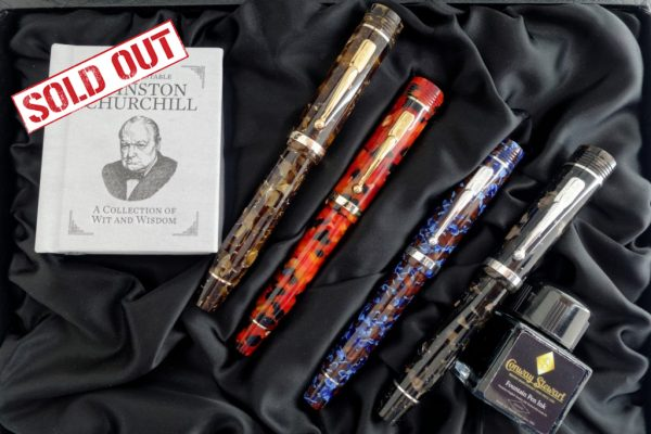 Conway Stewart Churchill Anniversary collection sold out