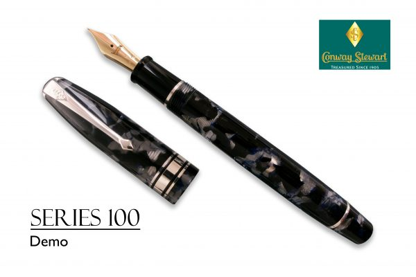Conway Stewart Series 100 Demo with sterling silver fittings