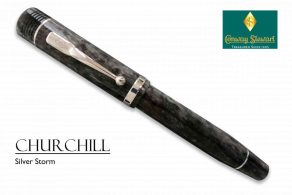 Conway Stewart Churchill Silver Storm