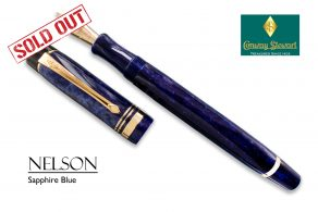 Conway Stewart Nelson Sapphire Blue sold out