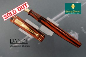 CS Dandy Woodgrain Ebonite